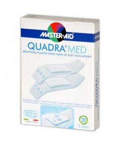 MASTER-AID QUADRA MED 20X Master aid Sebtapaszok, szalagok, kötszerek 759Ft Dió patika online gyógyszertár internetes gyógys...