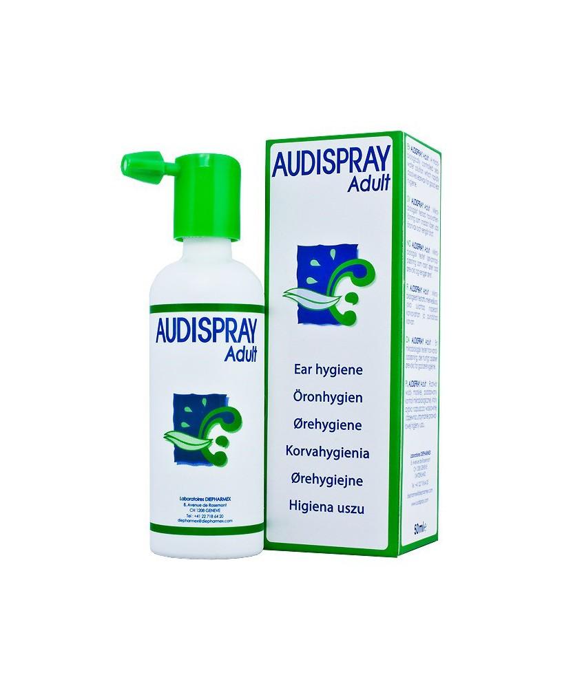 AUDISPRAY ADULT FULSPRAY 50ML DIEPHARMEX  Fülbajok 2,640.05 Dió patika online gyógyszertár internetes gyógyszerrendelés Budak...