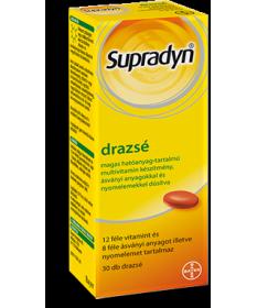 SUPRADYN DRAZSE 30X  Vitaminok és Nyomelemek  2,564.05 Dió patika online gyógyszertár internetes gyógyszerrendelés Budakeszi