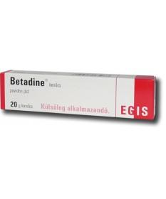 BETADINE KENOCS 20 G  Hámosítók és fertőtlenítők 737Ft Dió patika online gyógyszertár internetes gyógyszerrendelés Budakeszi