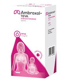 AMBROXOL-TEVA 3MG/ML SZIRUP 100 ML Teva Gyógyszergyár Zrt. Köptetők és köhögéscsillapítók 1,386.05 Dió patika online gyógysze...