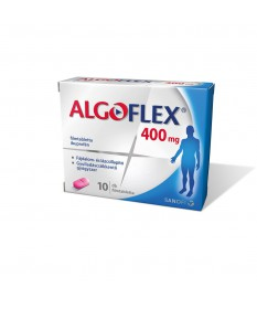 ALGOFLEX 400 MG FILMTABLETTA 10X Sanofi Tabletták 1,044.05 Dió patika online gyógyszertár internetes gyógyszerrendelés Budakeszi
