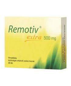 REMOTIV EXTRA 500MG FILMTABLETTA 30X  Altatók/ Nyugatók 4,283.55 Dió patika online gyógyszertár internetes gyógyszerrendelés ...