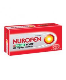 NUROFEN RAPID FORTE 400MG LAGY KAPSZ. 20X  Tabletták 2,003.55 Dió patika online gyógyszertár internetes gyógyszerrendelés Bud...