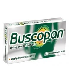 BUSCOPAN 10 MG BEVONT TABLETTA 20X Boehringer Ingelheim Emésztési problémák 1,528.55 Dió patika online gyógyszertár internete...