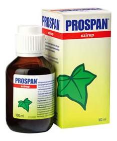 PROSPAN SZIRUP 100ML  Köptetők és köhögéscsillapítók 1,889.55 Dió patika online gyógyszertár internetes gyógyszerrendelés Bud...