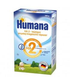 TAPSZER: HUMANA HA 2 TEJALAPU KIEGESZITO 2X250G  Tápszerek 2,631.00 Dió patika online gyógyszertár internetes gyógyszerrendel...