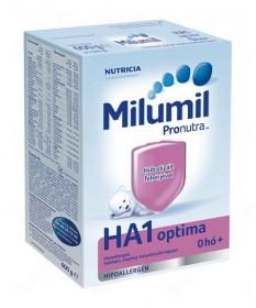 TAPSZER: MILUMIL HA 1 OPTIMA 600G  Tápszerek 3,049.00 Dió patika online gyógyszertár internetes gyógyszerrendelés Budakeszi