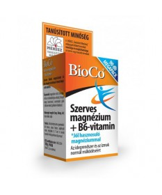 BIOCO SZERVES MAGNEZIUM B6 TABL. 90X BioCo Vitaminok és Nyomelemek  1,859.00 Dió patika online gyógyszertár internetes gyógys...