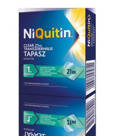 NIQUITIN CLEAR 21 MG TRANSZD.TAP. 7X  Dohányzásról való leszokást segítő termékek 3,689.00 Dió patika online gyógyszertár int...