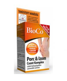 BIOCO PORC-IZOM CSONT KOMPLEX TABL. 120X BioCo Porc- és Csonterősítő 2,779.00 Dió patika online gyógyszertár internetes gyógy...