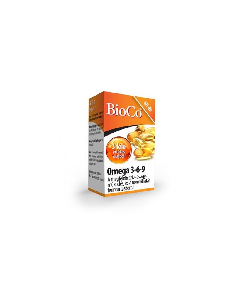 BIOCO OMEGA-3,6,9 LAGYZSEL KAPSZ 60X BioCo Szív és Érrendszer 2,583.04 Dió patika online gyógyszertár internetes gyógyszerren...