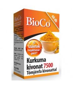 BIOCO KURKUMA TOMJENFA KIVONAT KAPSZ. 60X BioCo Porc- és Csonterősítő 2,402.55 Dió patika online gyógyszertár internetes gyóg...