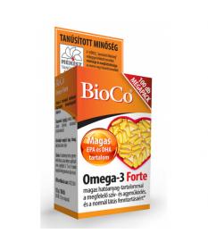 BIOCO OMEGA-3 FORTE KAPSZ. 100X BioCo Szív és Érrendszer 2,535.54 Dió patika online gyógyszertár internetes gyógyszerrendelés...