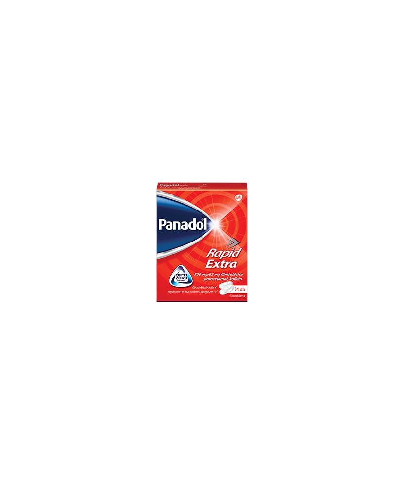 PANADOL RAPID EXTRA 500MG/65MG FILMTABL. 24X  Tabletták 1,529.00 Dió patika online gyógyszertár internetes gyógyszerrendelés ...