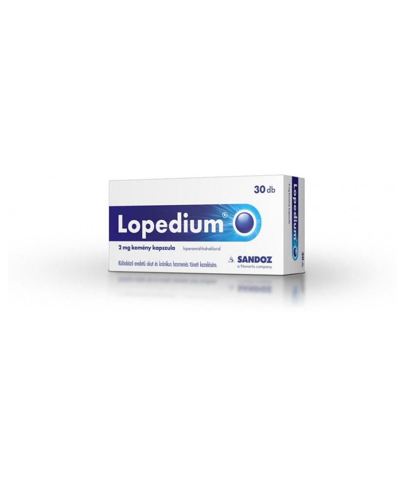 LOPEDIUM 2MG KEMENY KAPSZULA 30X  Hasfogók 2,127.05 Dió patika online gyógyszertár internetes gyógyszerrendelés Budakeszi