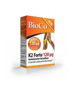 BIOCO K2-VITAMIN FORTE TABL. 60X BioCo Vitaminok és Nyomelemek  2,934.55 Dió patika online gyógyszertár internetes gyógyszerr...