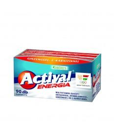 BERES ACTIVAL ENERGIA FILMTABL.  90X Béres Vitaminok és Nyomelemek  5,081.55 Dió patika online gyógyszertár internetes gyógys...