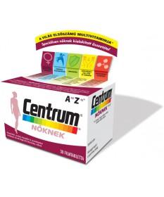 CENTRUM NOKNEK A-Z FILMTABLETTA 30X Pfizer Vitaminok és Nyomelemek  2,896.55 Dió patika online gyógyszertár internetes gyógys...