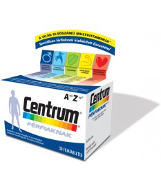 CENTRUM FERFIAKNAK A-Z FILMTABLETTA 30X Pfizer Vitaminok és Nyomelemek  2,887.05 Dió patika online gyógyszertár internetes gy...