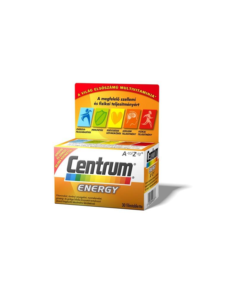 CENTRUM ENERGY A-Z TABLETTA 30X Pfizer Vitaminok és Nyomelemek  2,934.55 Dió patika online gyógyszertár internetes gyógyszerr...
