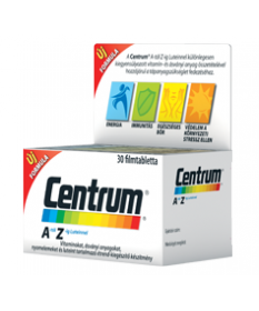 CENTRUM A-Z MPF LUTEINNEL FTBL ETRK 30X Pfizer Vitaminok és Nyomelemek  2,640.05 Dió patika online gyógyszertár internetes gy...