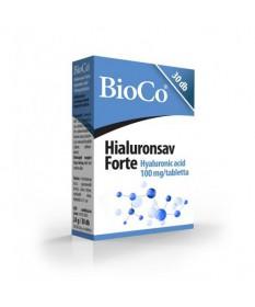 BIOCO HYALURONSAV FORTE TABLETTA 30X BioCo Szépség tabletták 3,299.00 Dió patika online gyógyszertár internetes gyógyszerrend...