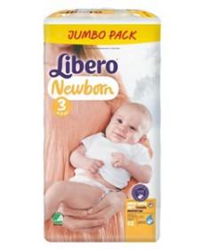 LIBERO NEWBORN 3 NADRAGPELENKA 4-9KG 62X  Pelenkák és betétek 4,249.00 Dió patika online gyógyszertár internetes gyógyszerren...