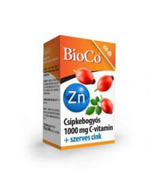 BIOCO CSIPKEBOGYO C-VIT 1000MG+ZN TBL. 60X BioCo Vitaminok és Nyomelemek  2,139.00 Dió patika online gyógyszertár internetes ...