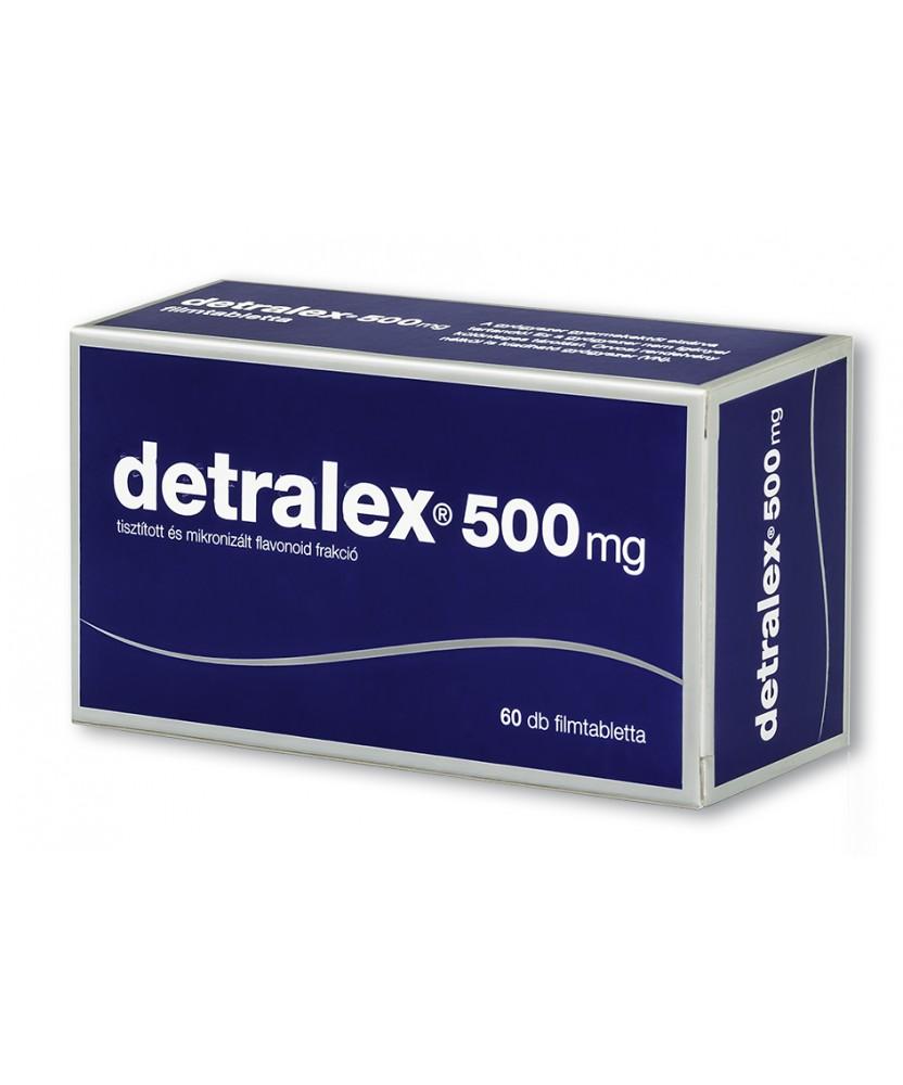 DETRALEX 500MG FILMTABL. 60X  Szív és Érrendszer 5,594.55 Dió patika online gyógyszertár internetes gyógyszerrendelés Budakeszi