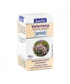 JUTAVIT (JUVITA) VALERIANA HARMONY KAPSZ. 45X JutaVit Altatók/ Nyugatók 829Ft Dió patika online gyógyszertár internetes gyóg...