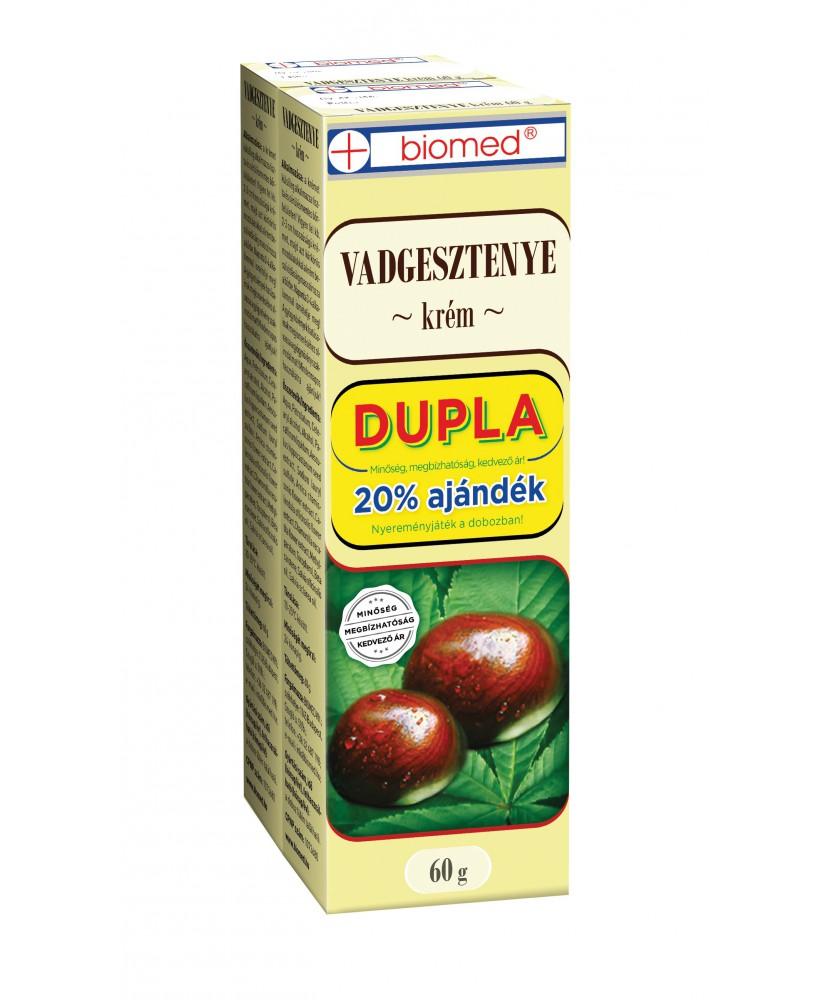 BIOMED VADGESZTENYE KREM DUO 2X60G Biomed Gyógynövény alapú készítmények 1,239.00 Dió patika online gyógyszertár internetes g...