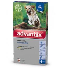 A.U.V. ADVANTIX SPOT ON 25-40KG KUTYA 4X4.0ML Bayer Állatpatika 10,183.99 Dió patika online gyógyszertár internetes gyógyszer...