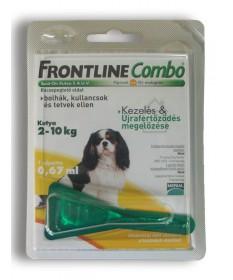 A.U.V. FRONTLINE COMBO KUTY.S (2-10KG) 1X0.67ML  Állatpatika 2,632.45 Dió patika online gyógyszertár internetes gyógyszerrend...