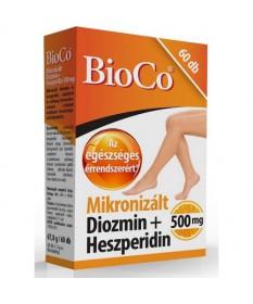 BIOCO MIKRONIZALT DIOZMIN HESPERIDIN FILMTBL 60X BioCo Szív és Érrendszer 3,588.99 Dió patika online gyógyszertár internetes ...