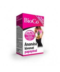 BIOCO ANANASZ PAPAYAVAL TABL. 100X BioCo Fogyókúrát segítő termékek 3,504.54 Dió patika online gyógyszertár internetes gyógys...
